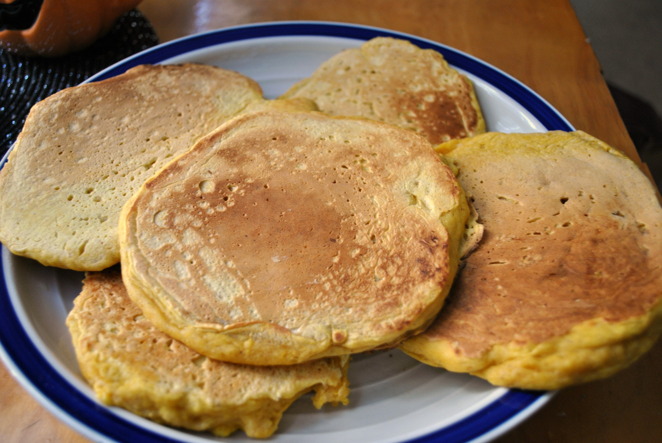 how to make pumpkin pancakes with bisquick
