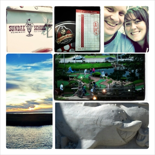 cape cod collage