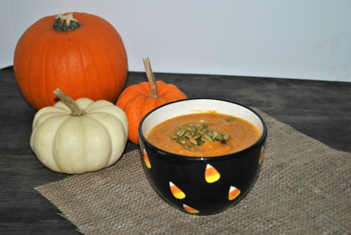 Pumpkin Cranberry Soup