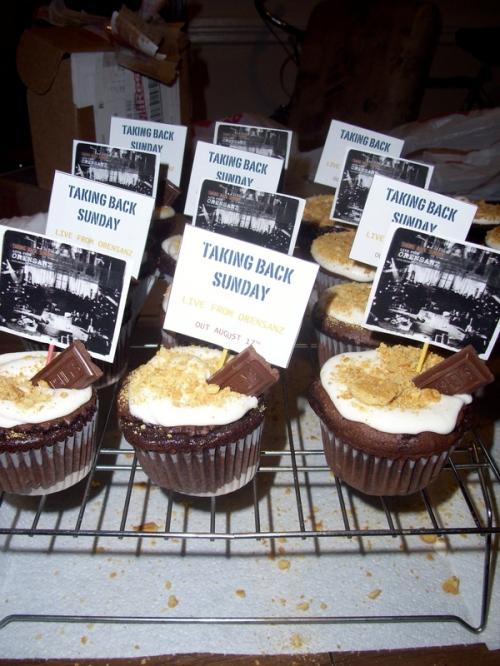 TBS cupcakes