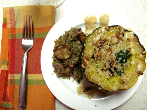 Wicked Vegan- Stuffed Acorn Squash3