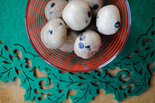 Wicked Vegan- Healthy Cookie Dough Bites