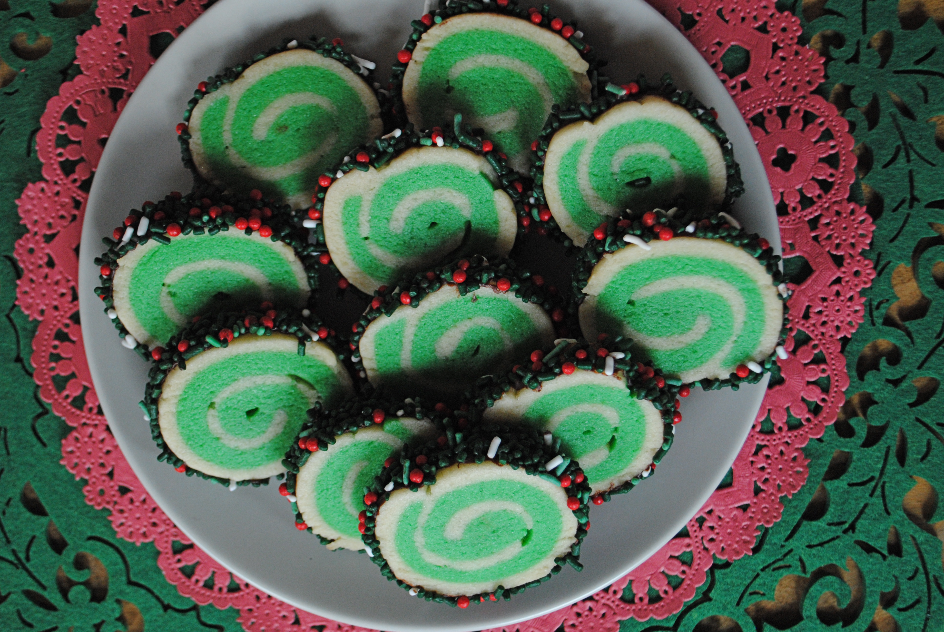 12 Days Of Christmas Cookies Day 1 Pinwheel Sugar Cookies