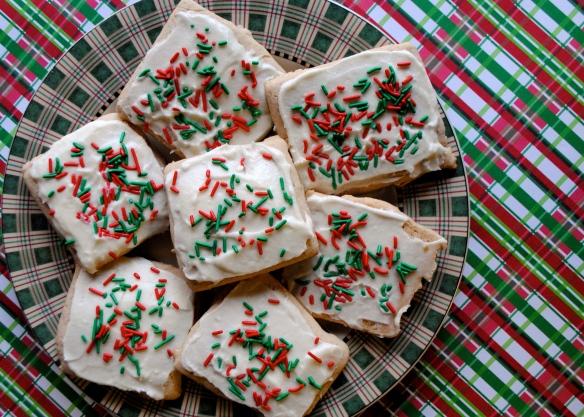 Day 1 Of Twelve Days Of Christmas Cookies Cinnamon Maple Sugar